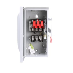 Siemens Energy & Automation 3-1/8 in. 240/250V 3-Pole Fusible Safety Switch with Neutral SGF32NR