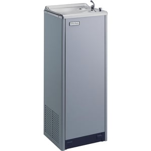 Halsey Taylor 14 gal. Floor Mounting Water Cooler in Platinum HSCWT14AQPV