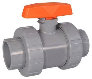 Hayward Industrial Products CPVC True Union Ball Valve with EPDM Seat HTB2STE