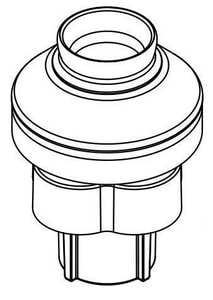 Moen Escutcheon with Hose Guide M104235
