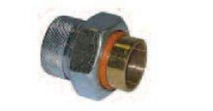 Legend Valve & Fitting 3/4 x 1/2 in. FIP x Sweat Dielectric L301123