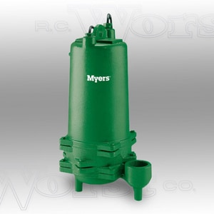 F.E. Myers 115 V 1/2 hp Manual Effluent Pump MME50S11