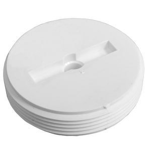 Jones Stephens 3-1/2 in. PVC Countersunk Cleanout Plug JP49035