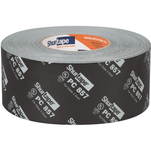 Shurtape PC 857 3 in. Grade Tape in Black SPC857M60
