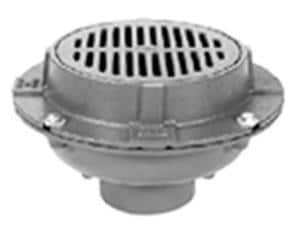 Zurn Industries Cast Iron Medium Duty Drain with Trap Primer Bucket ZZ550NLPY