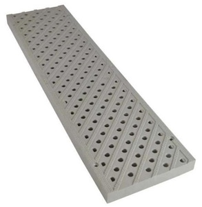 National Diversified Sales 5 in. Pedestrian Traffic Channel Grate N826
