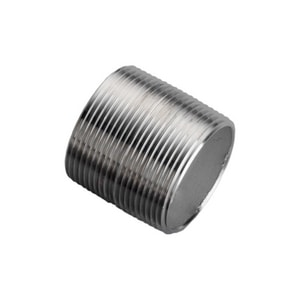 1 in. Schedule 40 304L Stainless Steel Nipple DS44SNTOEG