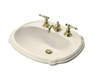 Kohler Portrait® 3-Hole Drop-In Centerset Lavatory Sink K2189-4