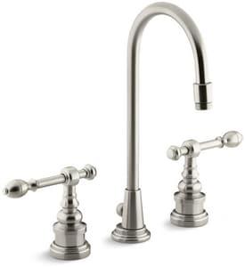 Kohler IV Georges Brass® 1.2 gpm Double Lever Handle Lavatory Faucet K6813-4
