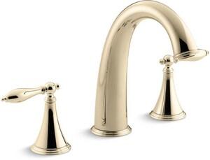 Kohler Finial® 3-Hole 16 gpm Bath Faucet Trim KT314-4M