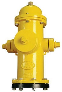American Flow Control 4 ft. x 6 x 5-1/4 in. B62B Open Hydrant Less Accessories Red AFCB62BLAOLRRED