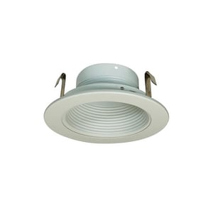 Nora Lighting 50 W PAR20 Baffle Trim in White NNS40