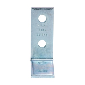 Cooper B-Line 4-Hole Plated Corner Angle Bracket BB104ZN