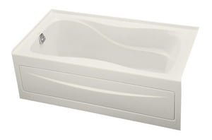 Kohler Hourglass® 20 x 60 x 32 in. 64 gal 3-Wall Alcove Bathtub with Left Hand Drain K1219-LA