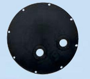 AK Industries Dome Plastic Cover with 2 in. Outlet AAKP80100