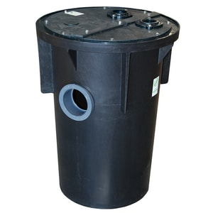 Zoeller 18 in. Structural Foam Sewer Basin with Cover Z311099