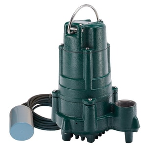 Zoeller 115V Effluent Pump With Variable Level Float Switch Z1400005