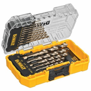 DEWALT 1/16 - 1/2 in. 16-Piece Pilot Point Set with Tough Case DDW1956