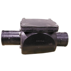 Jones Stephens Cast Iron No-Hub Backwater Valve JB01006