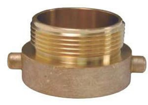 Dixon Valve & Coupling FNST x MNPT Cast Brass Adapter DHAT