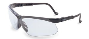 Uvex Safety Glasses with Black Frame US3200