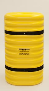 Eagle Manufacturing 42 in. Column Protector in Yellow EAG17