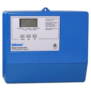 Tekmar Control Systems Two Stage Boiler Control T261