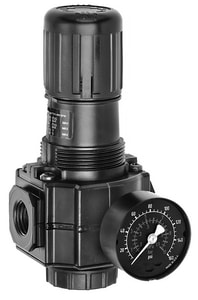 Dixon Valve & Coupling Basic Air Regulator with Gauge DR74G4RG