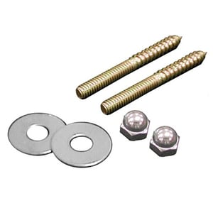 Jones Stephens Brass Closet Square Cut Nut and Washer JC02302