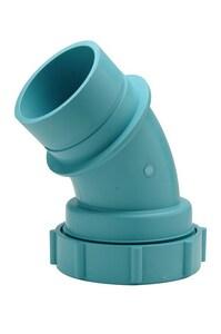Zurn Corrosive Waste Drainage Spigot Acid Waste 45 Degree Elbow ZZ9AE45S