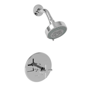 Newport Brass East Linear 2 gpm Pressure Balance Shower Trim with Single Cross Handle N3-994BP