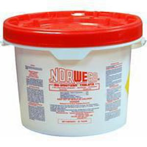 Norwalk Wastewater Equipment Biodegradable Sani-Tablets Pail NBS10