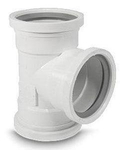 SDR 26 Gasket PVC Tee MUL06702