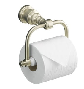 Kohler iV Georges Brass® 7-3/8 in. Wall Mount Horizontal Toilet Tissue Holder K6828
