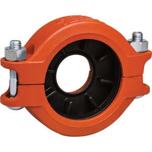 350# Grooved Painted Ductile Iron Coupling with Enamel Gasket VL750PE0