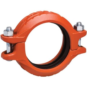 Victaulic Style 07 Grooved Galvanized Ductile Iron Coupling with Grade E Gasket VL007GE0