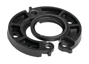 Victaulic Painted Grooved Flanged Adapter with T Gasket VL0741PT0