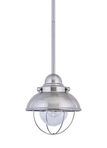 Seagull Lighting Sebring 9 in. 100 W 1-Light Medium Pendant S6150