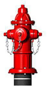 American AVK Co. 5-1/4 in. Hydrant Bury with Left Opening Less Accessories A278006LAOL
