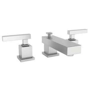 Newport Brass Cube 2 1.2 gpm 3-Hole Widespread Lavatory Faucet with Double Lever Handle N2020