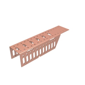 Hubbard Enterprises Copper Plate Bracket Kit H115C