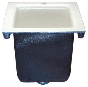 Zurn Industries No-Hub Floor Sink  Blue ZZ19023NH