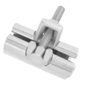 PROFLO 1-1/4 in. Stainless Steel Repair Clamp PFRCH