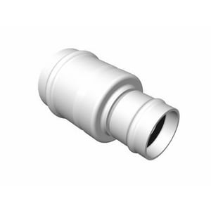 Multi-Fittings Corporation 6 x 6 x 4 x 4 in. Hub Reducing and DWV Schedule 40 PVC Double Wye MUL026098