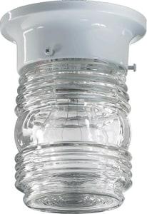 Quorum International 3.25 Jelly Jar Ceiling Mount in White Q300936