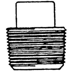 6000# Threaded Forged Steel Square Plug FSTSPJ