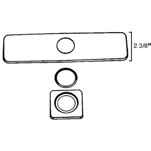 Rohl Cover Plate RCOP10