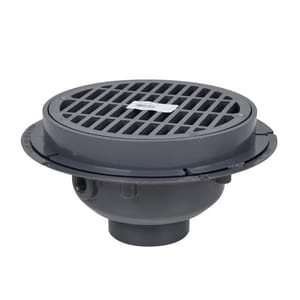 Oatey PVC Sediment Drain Plastic Grate with Bucket O76013