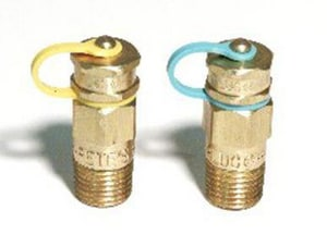Hydro-Flo Products 1/4 in. Brass Pete Plug HPP110