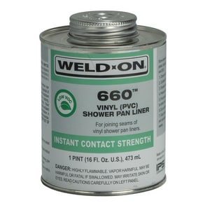 Weld-On® 1 pt Shower Pan Cement I10835